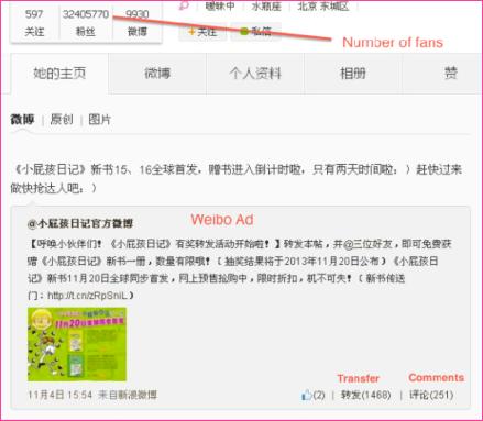 Weibo ad
